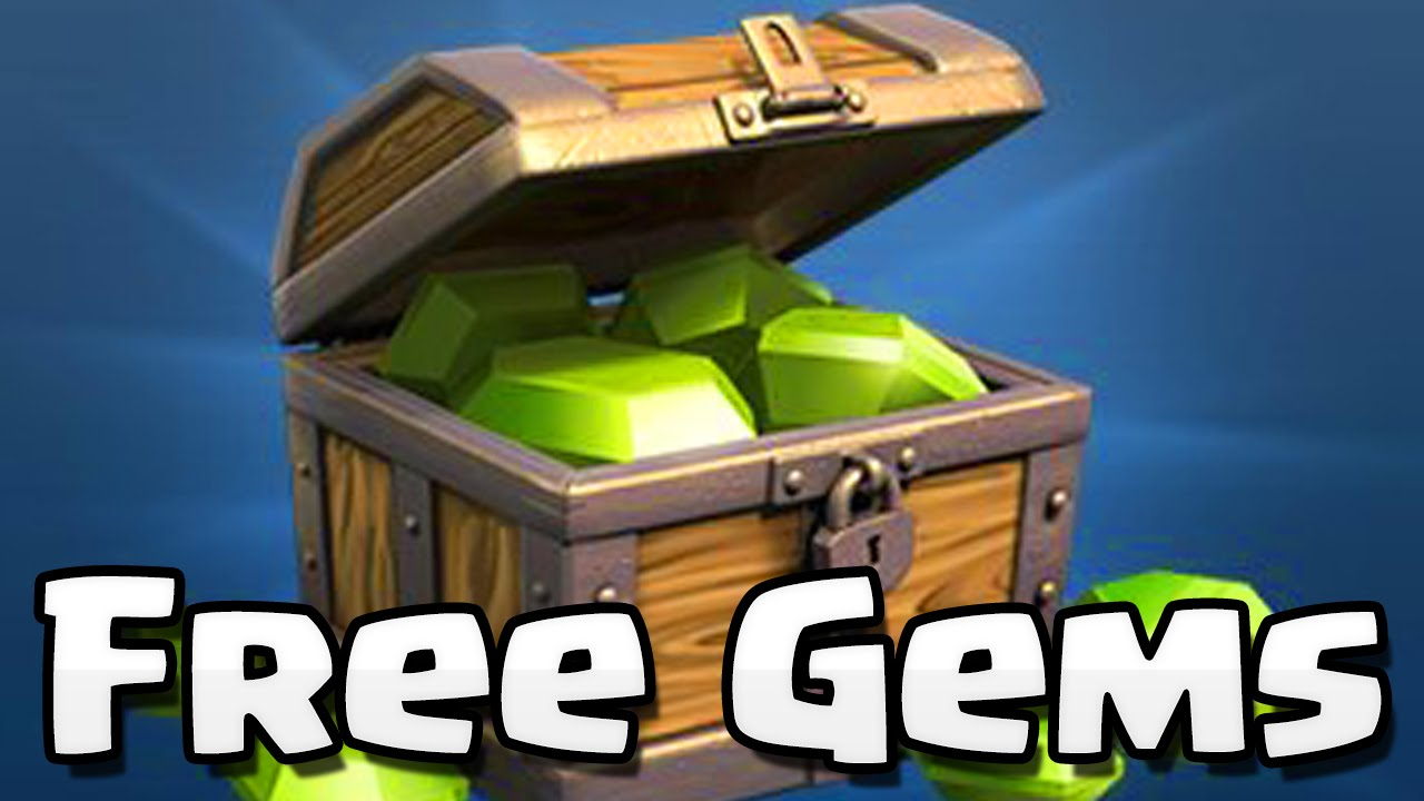 how to get free gems on clash of clans 2018