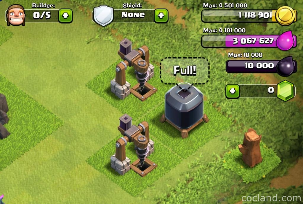 Clash Of Clans Dark Elixir Storage